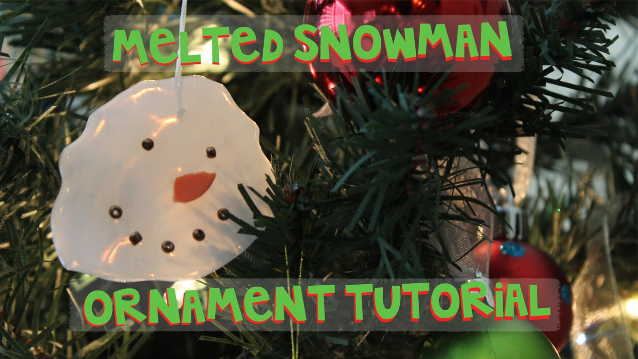 how to build a snowman video