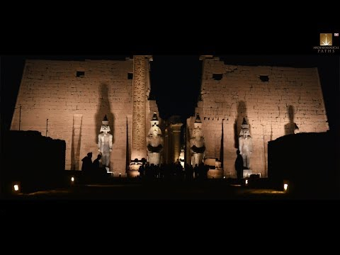 The Luxor temple with Dr. Zahi Hawass