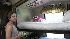 RV Tour for Families: Awesome Bunk House: Full time Traveling Family