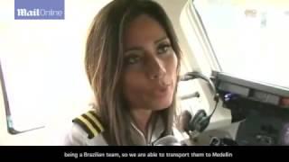 last interview co-pilot before Colombia plane crash