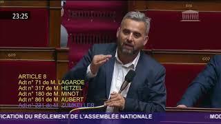 Alexis Corbière (FI) dénonce une