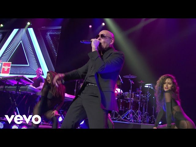 Pitbull – Time Of Our Lives (Live on the Honda Stage at the iHeartRadio Theater LA)