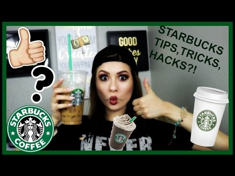 STARBUCKS HACKS,TIPS & TRICKS!! HOW TO SAVE MONEY OMG?!