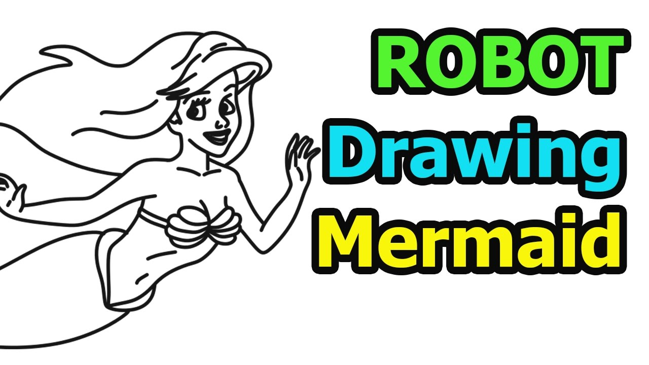 How to draw Mermaid quick & easy (Drawing & Cartoon for ...