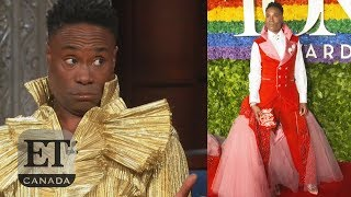 Billy Porter Challenges Gender Fashion Norms