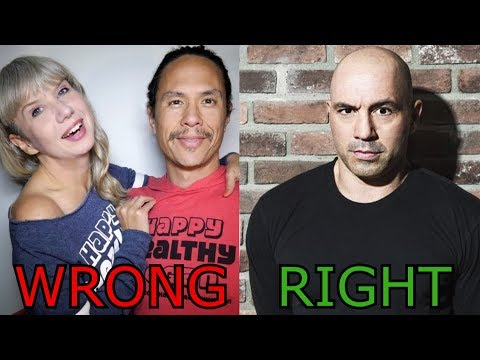 Joe Rogan is right about What the Health. Sorry, Happy Healthy Vegan.