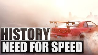 History of - NEED FOR SPEED (1994-2017)