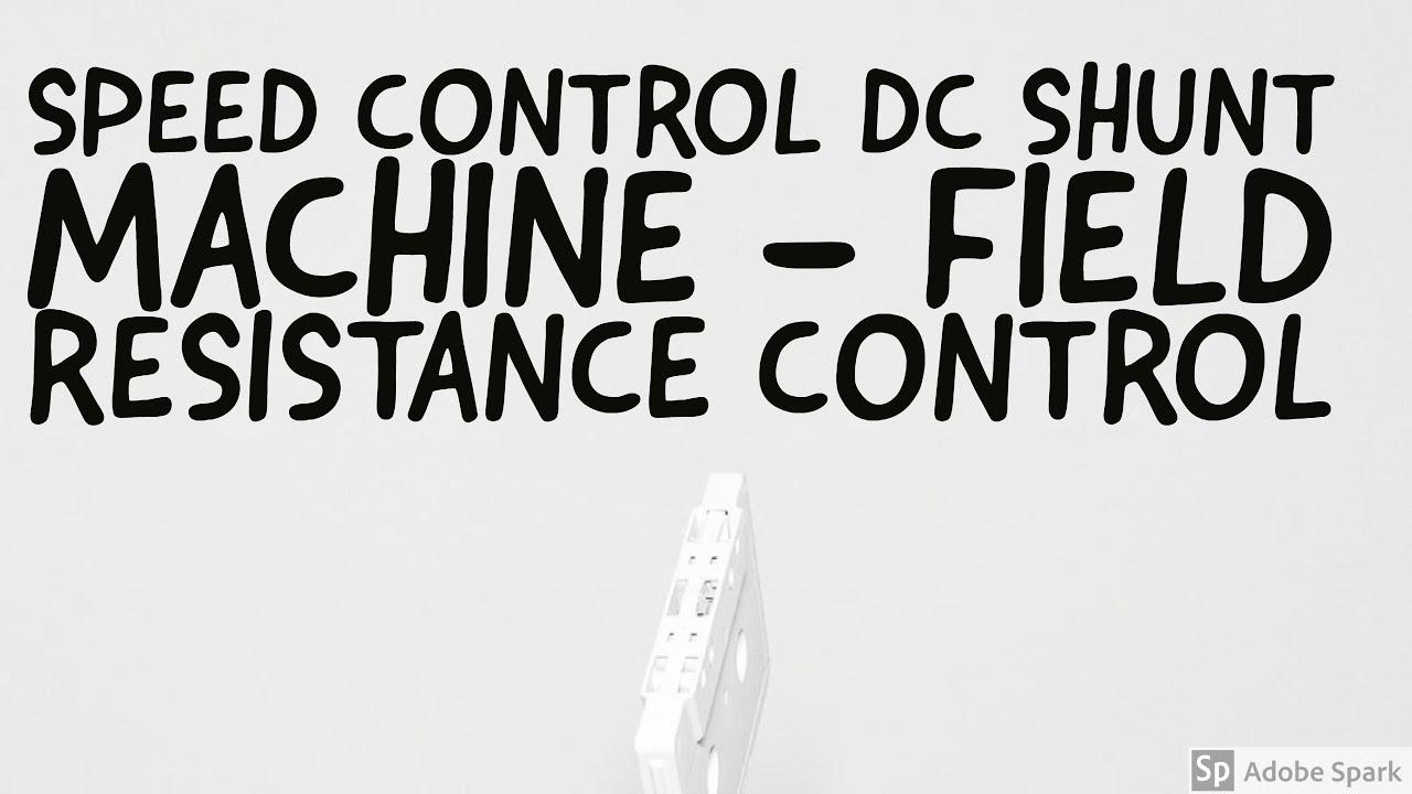 shunt field dc motor