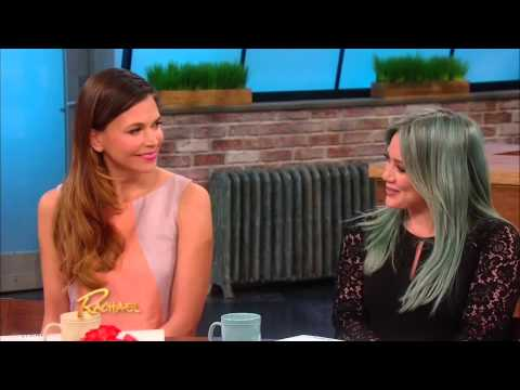 Hilary Duff and Sutton Foster on Rachael Ray Show (Full)