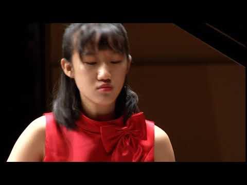 蕭雅文 2017第21屆日本浜松PIARA鋼琴大賽 決賽Senior A 組 APOLLO 獎勵獎(優秀獎) - YouTube