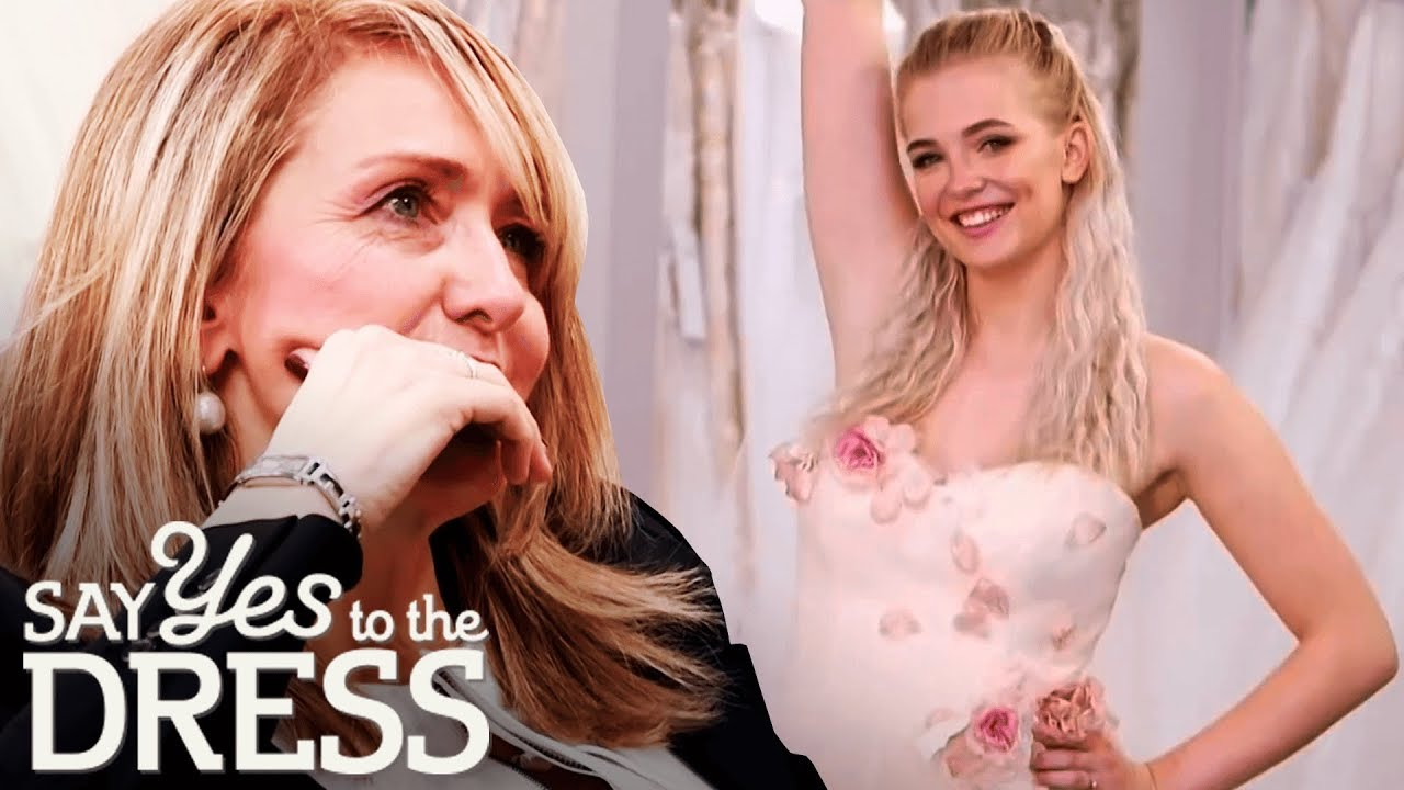 Blushing Bride Tries on a Blush Princess Gown! | Say Yes To The Dress UK