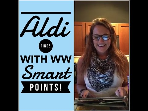 Weight Watchers Aldi Finds with Smart Points! Facebook Live Chat