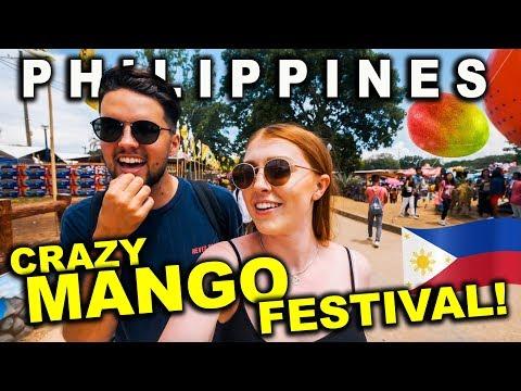 INSANE MANGO FESTIVAL In Philippines! Manggahan, Guimaras