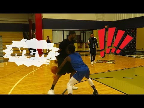 NBAs E'TWAUN MOORE EXTENDS INVITE TO ME &CASHNASTY AT PRACTICE COURT!!