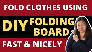 How To Fold Clothes Nicely as Easy as 1-2-3