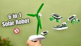 6 In 1 Solar Robot Kit