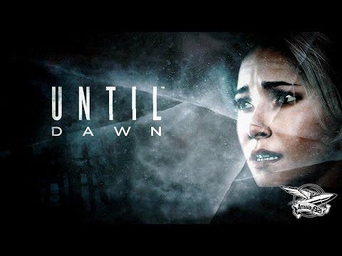 Стрим - Until Dawn - ДОМ 2 с маньяком - Часть 1
