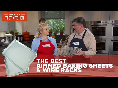 The Kitchen Tools We Use Daily: Rimmed Baking Sheets and Wire Racks