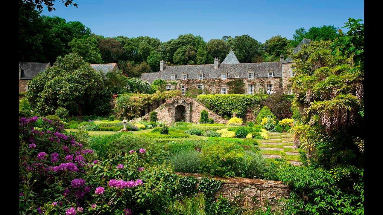 FRANCEKERDALO un des plus beau jardin de FranceA most impressive garden of France  YouTube