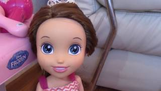 Салон красоты для кукол. Видео для детей.
