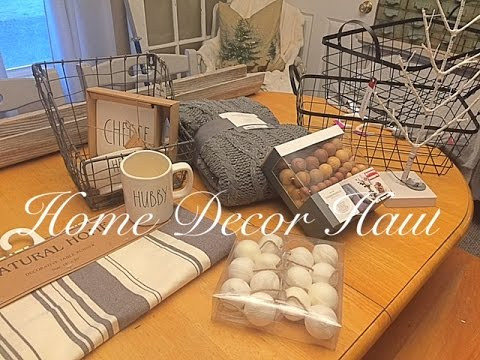 Home decor haul after christmas youtube for Home decorations after christmas