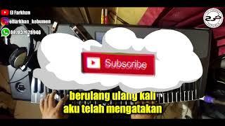 Download Tiada Restu (Putri) cover Karaoke Lirik by El Farkhan Kebumen