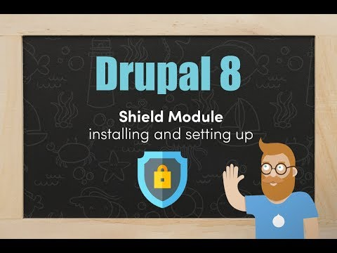 Downloading and setting up the Shield module in Drupal 8 thumbnail
