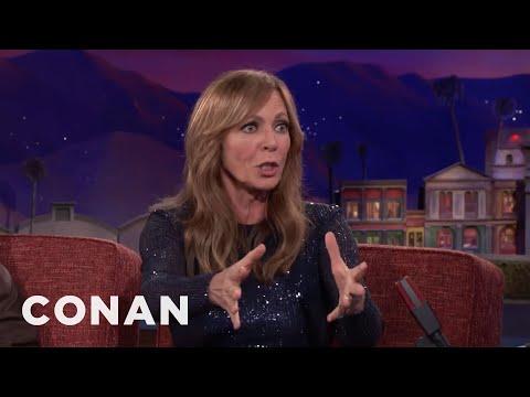 Allison Janney: Tonya Harding Was Mad That Oprah Didn't Recognize Her  - CONAN on TBS