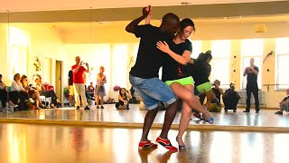 Jamba and Sonja KikiZomba at Ginga no Ponto - Kizomba Workshop Demo