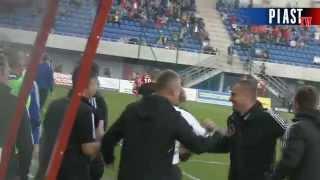 Kulisy meczu Piast Gliwice - Legia Warszawa 3:1 (2:0) - 05.10.14