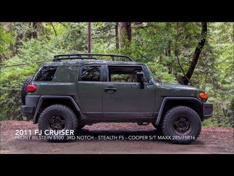 how to change shocks on fj cruiser