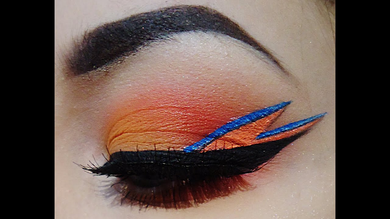 David Bowie Inspired Eye Makeup - Makeup Tutorial - YouTube