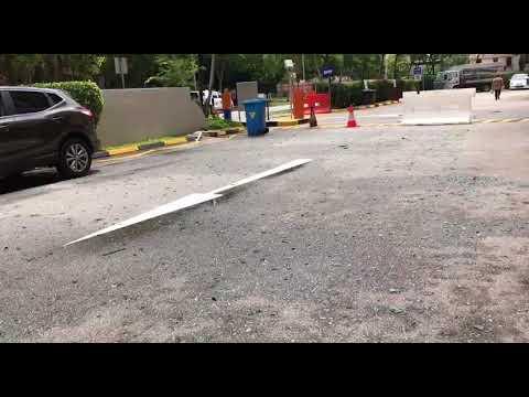 Industrial incident at 20 Bukit Batok Crescent