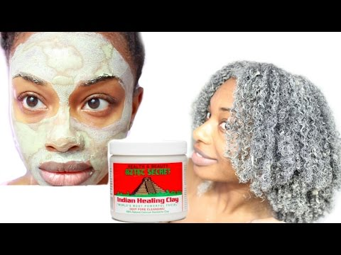 Bentonite Clay Review and Demo | Natural Hair and Skin