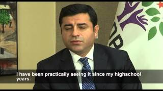 Exclusive: Long interview with the Kurdish leader Selahattin Demirtaş in Turkey
