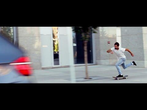 Skateboarding with Reuben Bullock