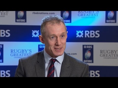 Wales Coach Rob Howley Interview At The RBS 6 Nations 2017 Launch Event
