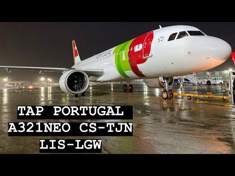✈ TAP Air Portugal A321NEO | Lisbon - London Gatwick - | Trip Report ✈