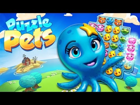 Puzzle Pets Gameplay - For iOS And Android