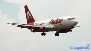 *CLASSIC* Avior Airlines Boeing 737-2Y5/Adv Landing at Miami