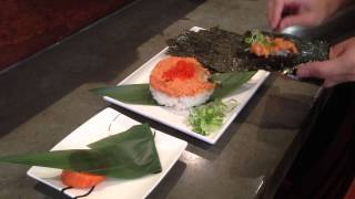 How To Make Spicy Tuna Hand Roll Sushi - Gyoza Bar Ann In Brisbane Australia