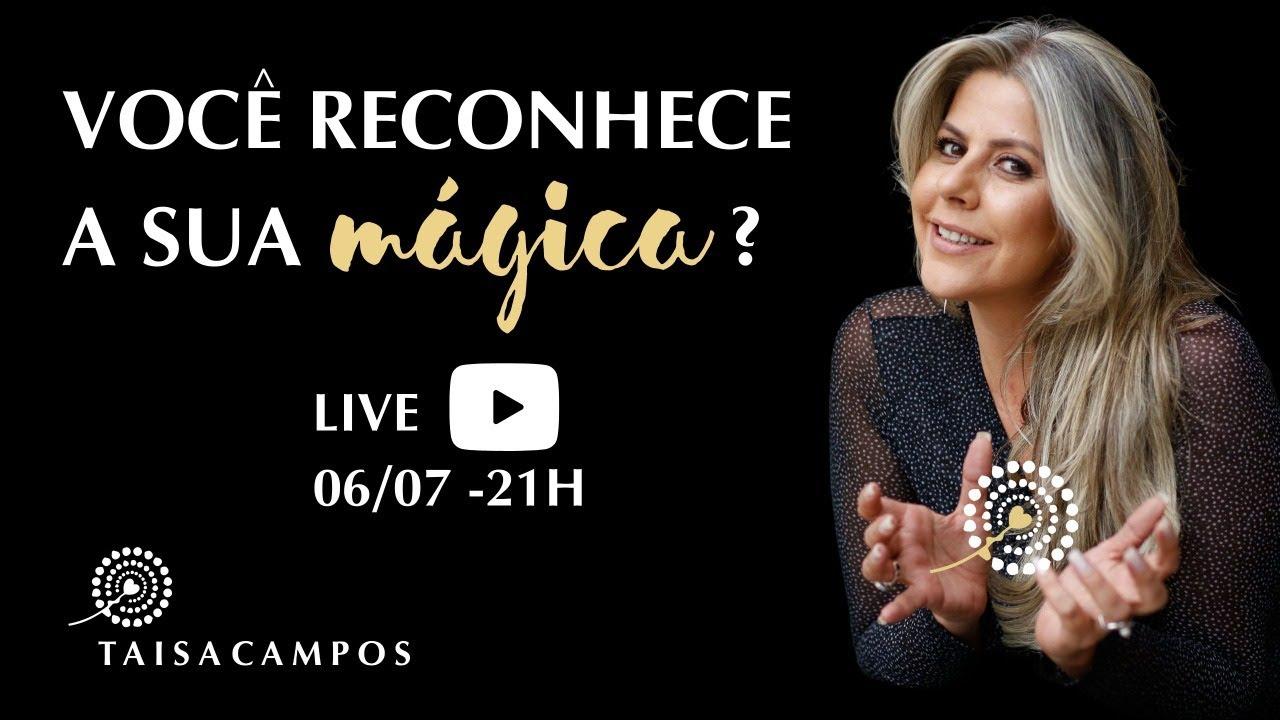 Você reconhece sua mágica? Live com Taisa Campos - Barras de Access Consciousness