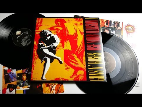 Guns N' Roses – Use Your Illusion I – Vinyl Unboxing