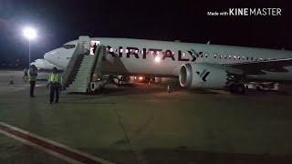 Air Italy B737-800 MAX| Dakar - Milano |(DSS - MXP)