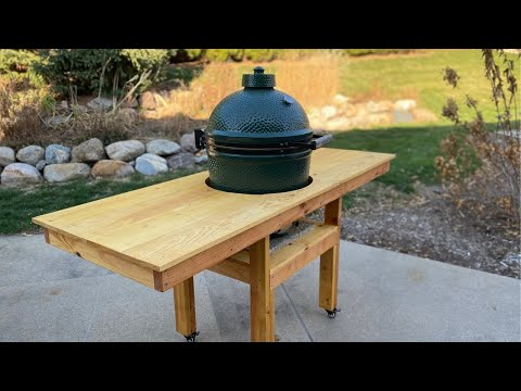 Easy DIY Green Egg Table with Free Detailed Plans