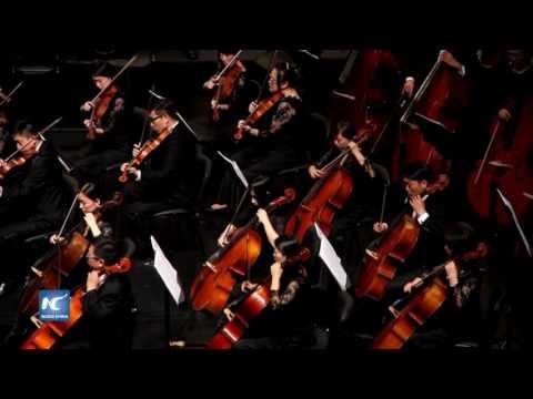 Magno concierto en Chile de la Orquesta Sinfónica de Qingdao
