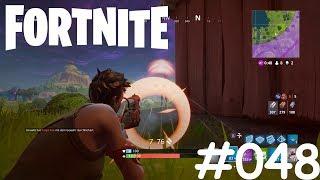 Let's Play Fortnite #048 [Deutsch] [HD] [XBOX ONE] - Erste Runde auf der Xbox One X