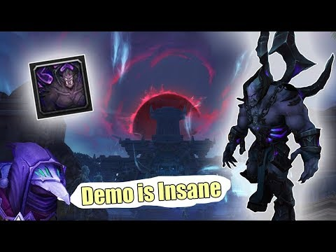 ????DEMO IS INSANE! - Demonology Warlock BG 146 [BFA]