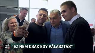Személyesen buzdít szavazásra Orbán Viktor 19-05-25