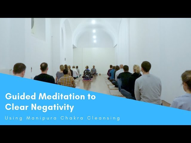 Guided Meditation to Clear Negativity Using Manipura Chakra Cleansing